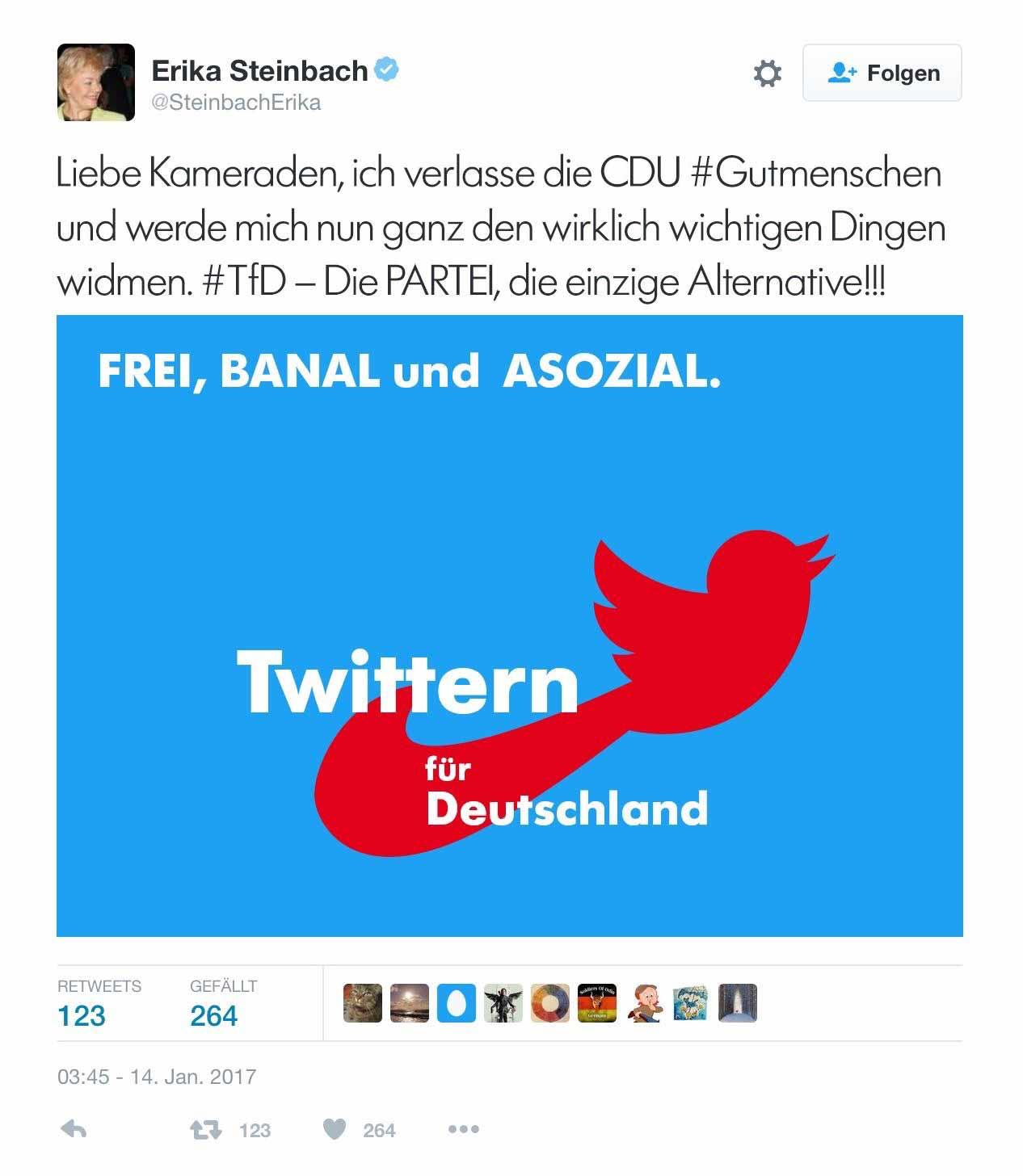 steinbach-tweet